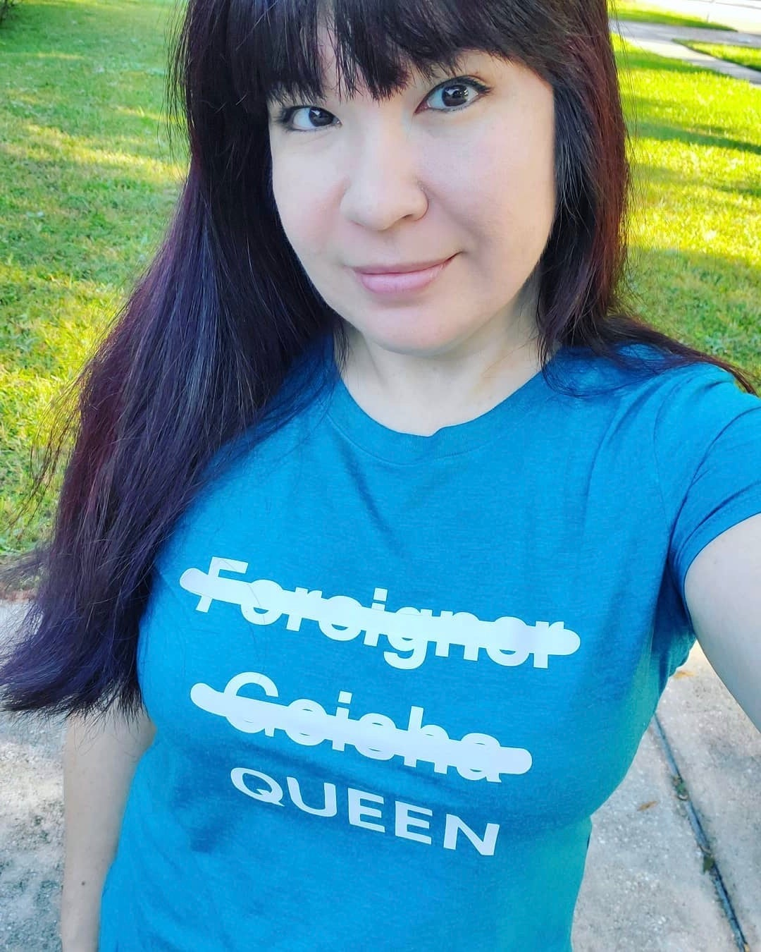 Image of QUEENS T-shirt (APIA)
