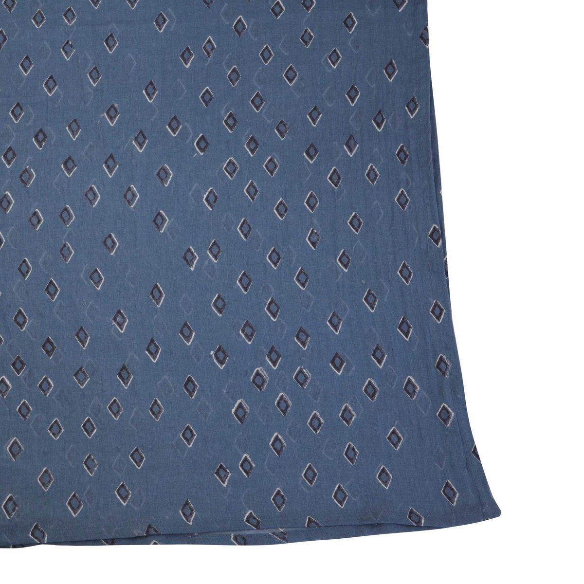 Image of Tiz Ocean Block Print Scarf