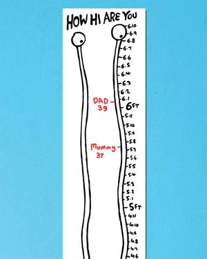 Image of HOW HI height chart