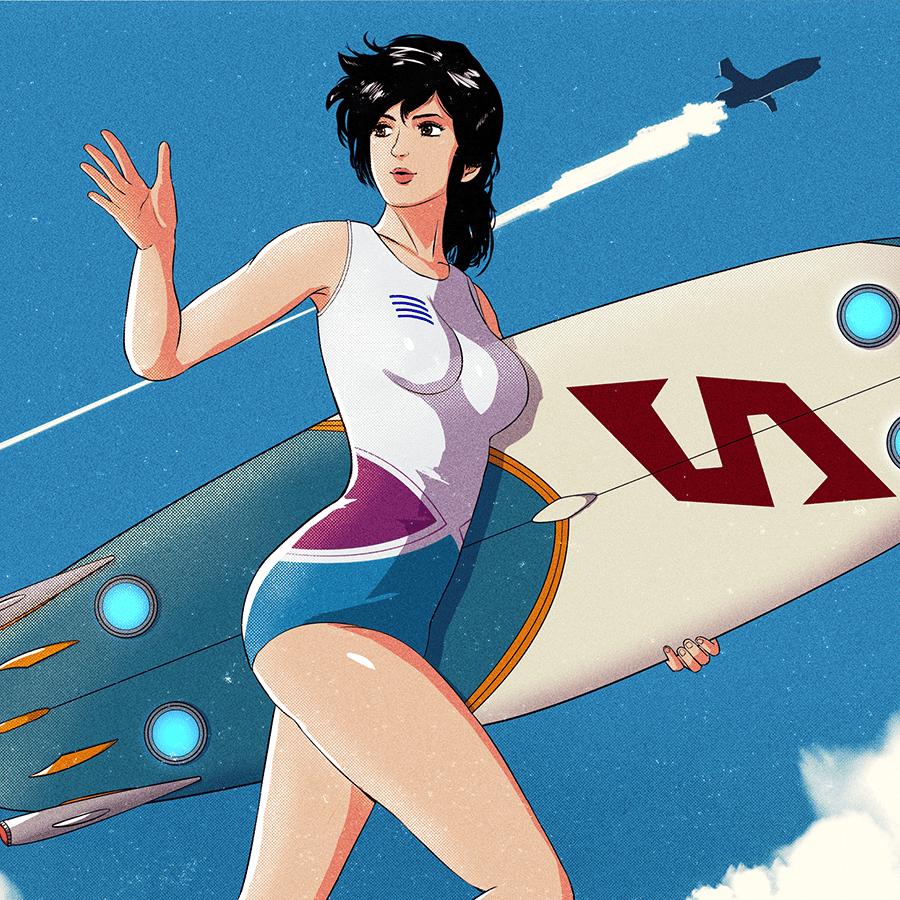 Image of Mirai Surf Girl Tee