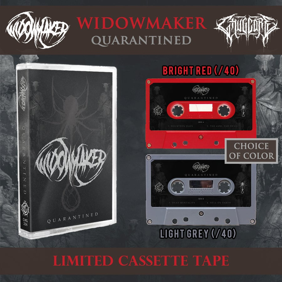 """Image of """"Quarantined"""" [Limited Cassette Tape]"""