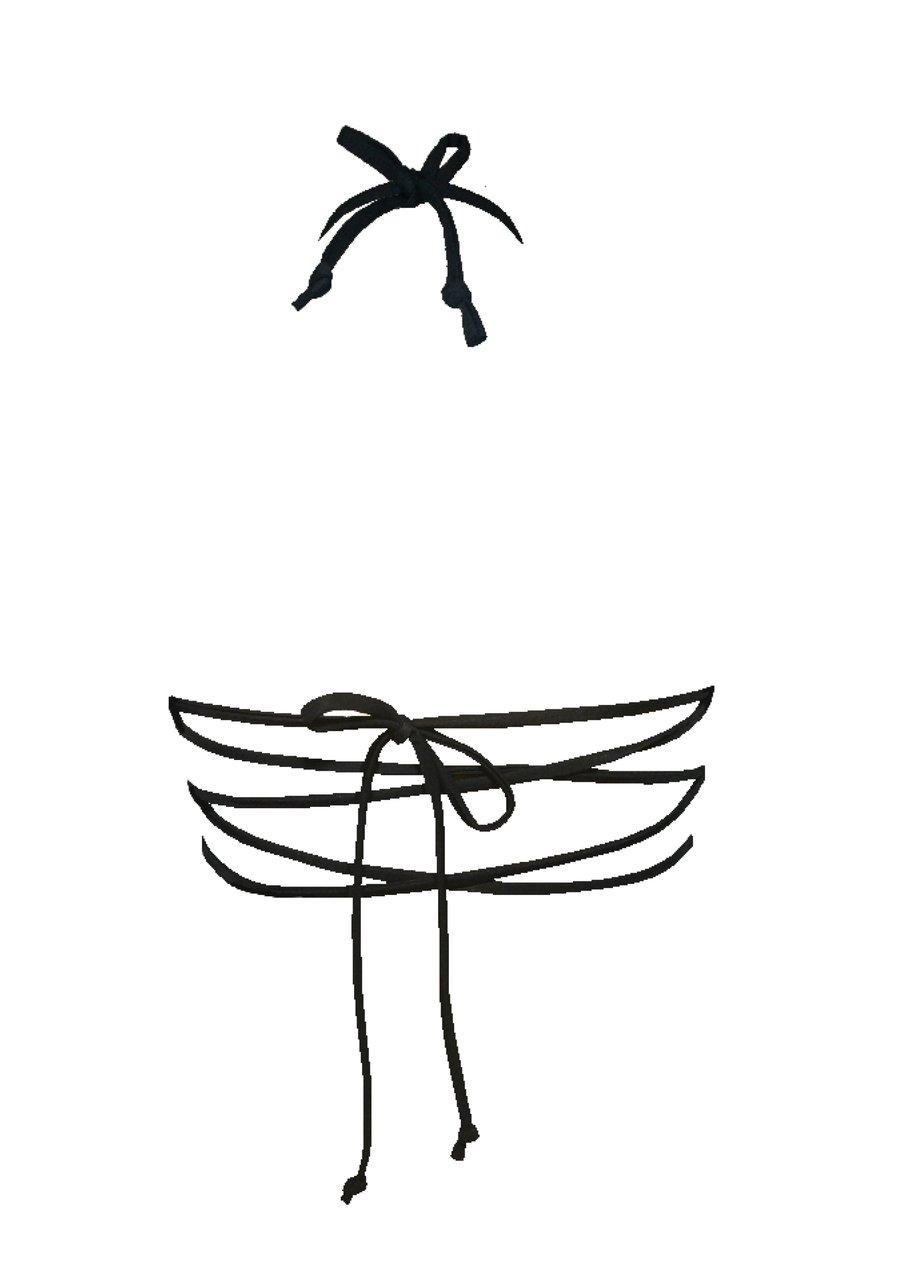 Image of Criss Cross Top - Black