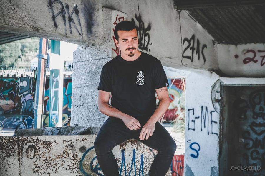 Image of Semper Rebellis T-shirt Bk