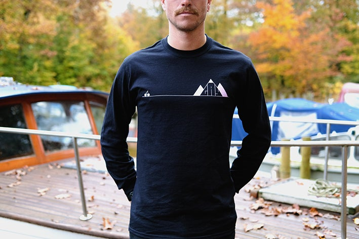 Image of Mountain Climber Long-Sleeve T-shirt