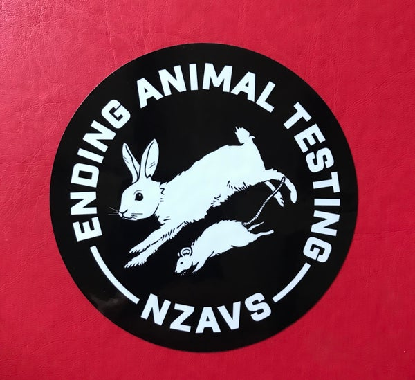 Image of STICKER - ENDING ANIMAL TESTING