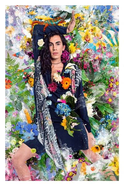 Image of Flores Fatales Print - Nico, Natalie, Steve, or Tim