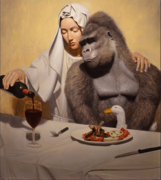 Image of 'An Invitation To Dine' Signed Limited Edition Print $190 Australian Dollars