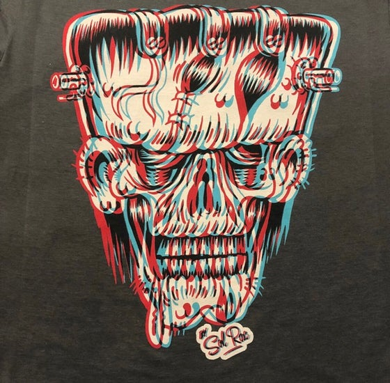 Image of 3D Frankie. Guys & Ladies T-Shirt.