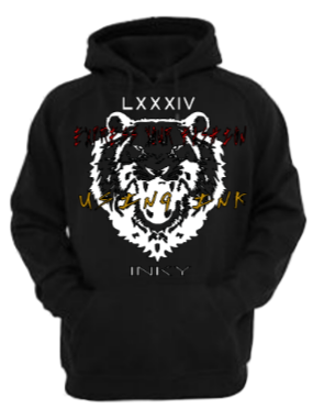 """Image of Inky The Lion """"Tagged"""" Hoodie"""