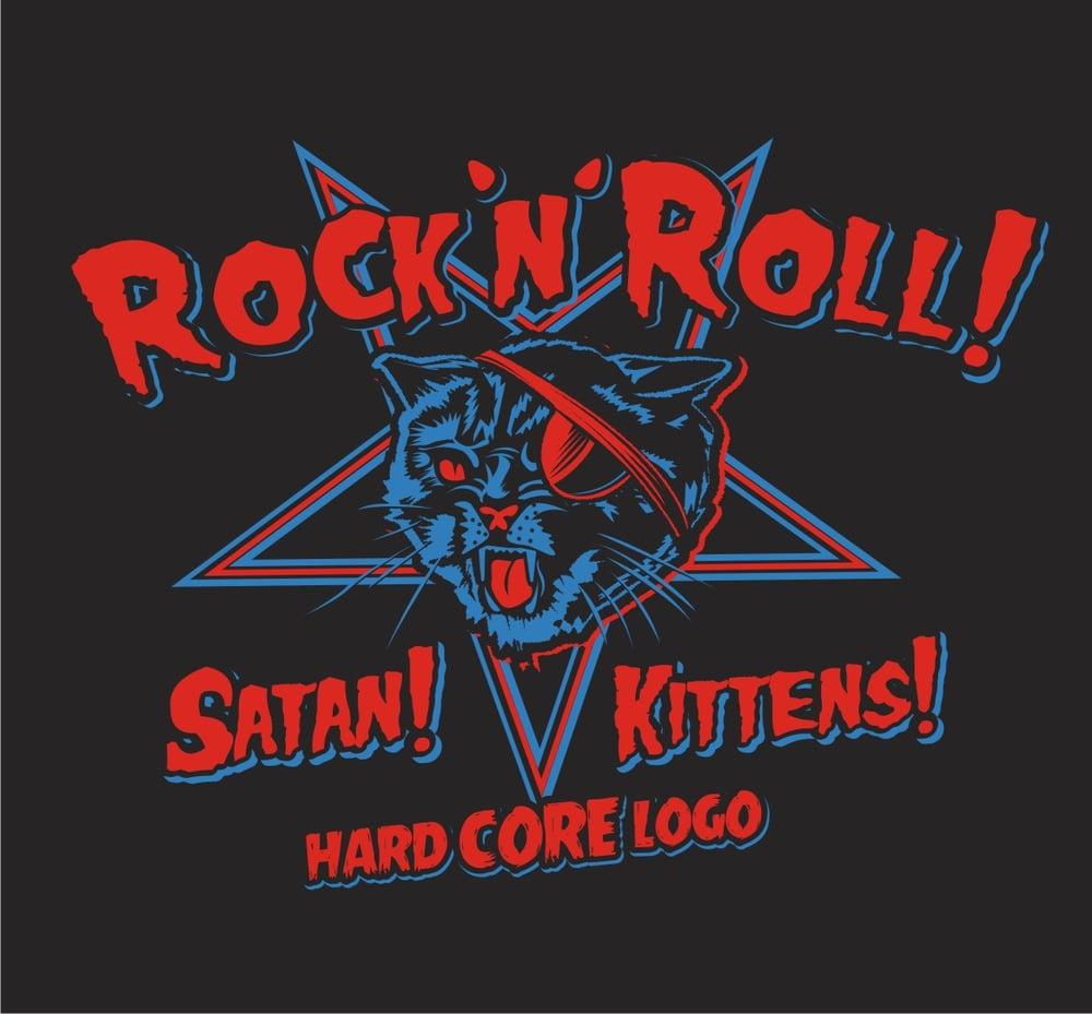 Image of Satanic Kittens ! Ladies & Guys T-Shirt