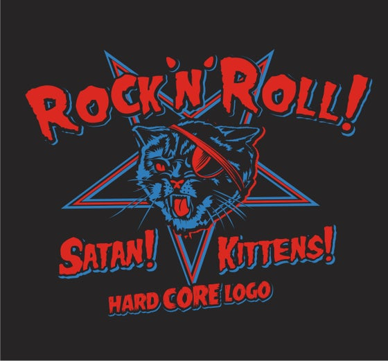 Image of Satanic Kittens ! Ladies & Guys T-Shirt.