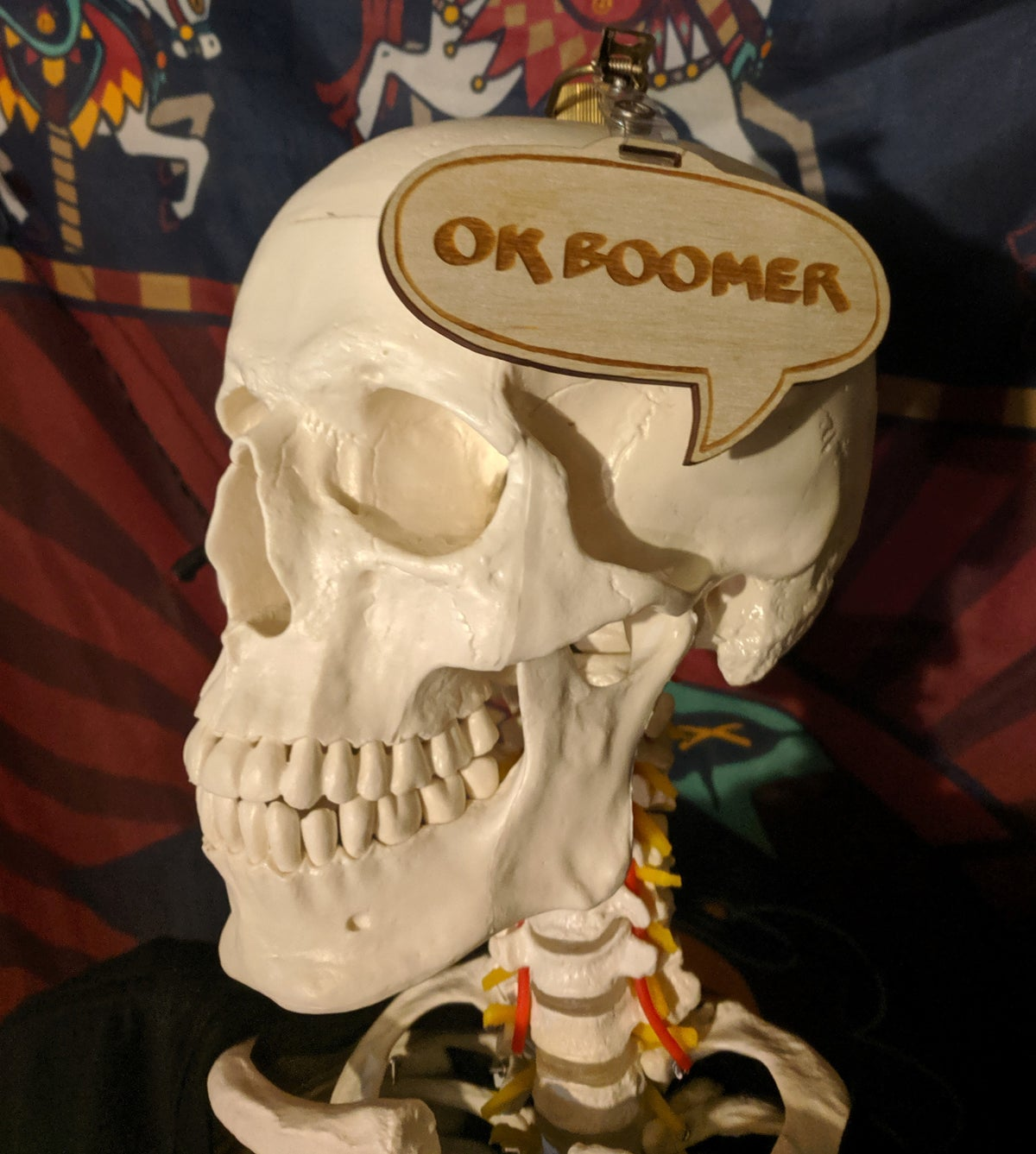 Image of OK Boomer PWYW Badge