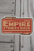 Image of Red & Gold Empire sticker