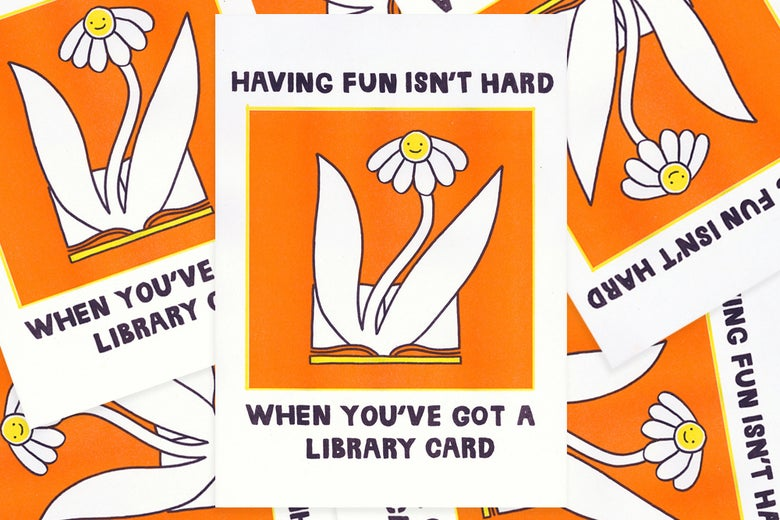 Image of Library card [fine art print]