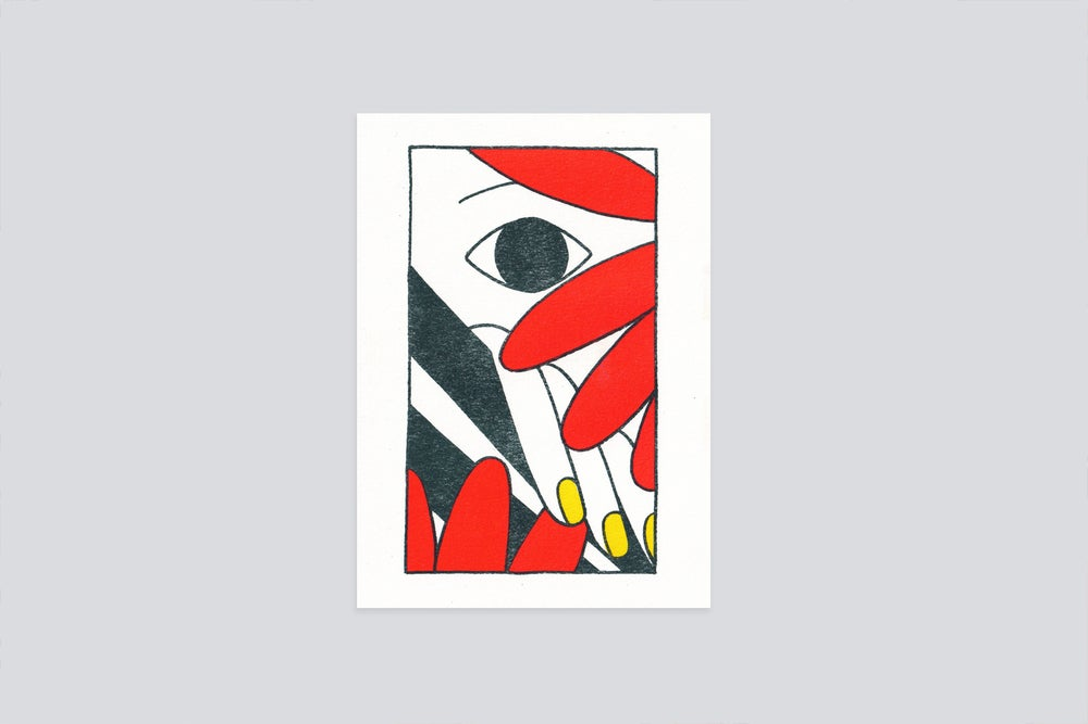 Image of Spring poem [riso print]