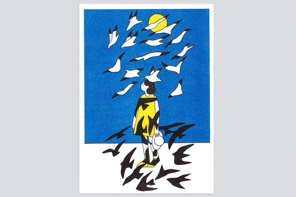 Image of The gulls [riso print]