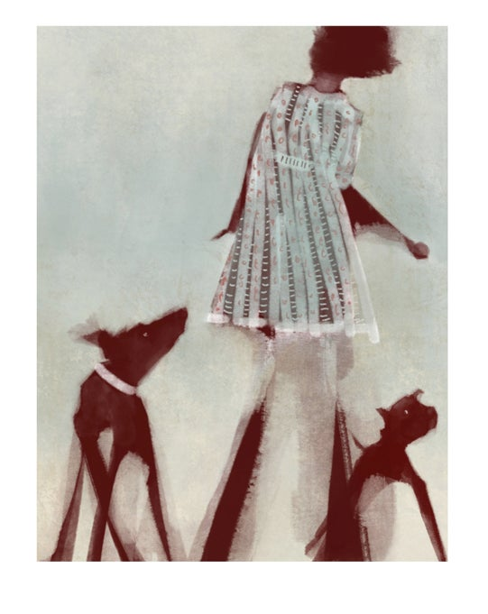 Image of Fine art print: Throw like a girl