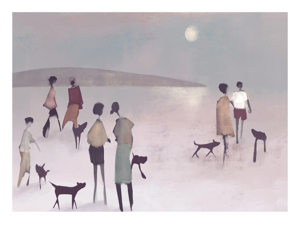 Image of Fine art print: Reckon they are?