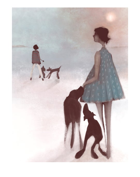 Image of Fine art print: Can we go over?