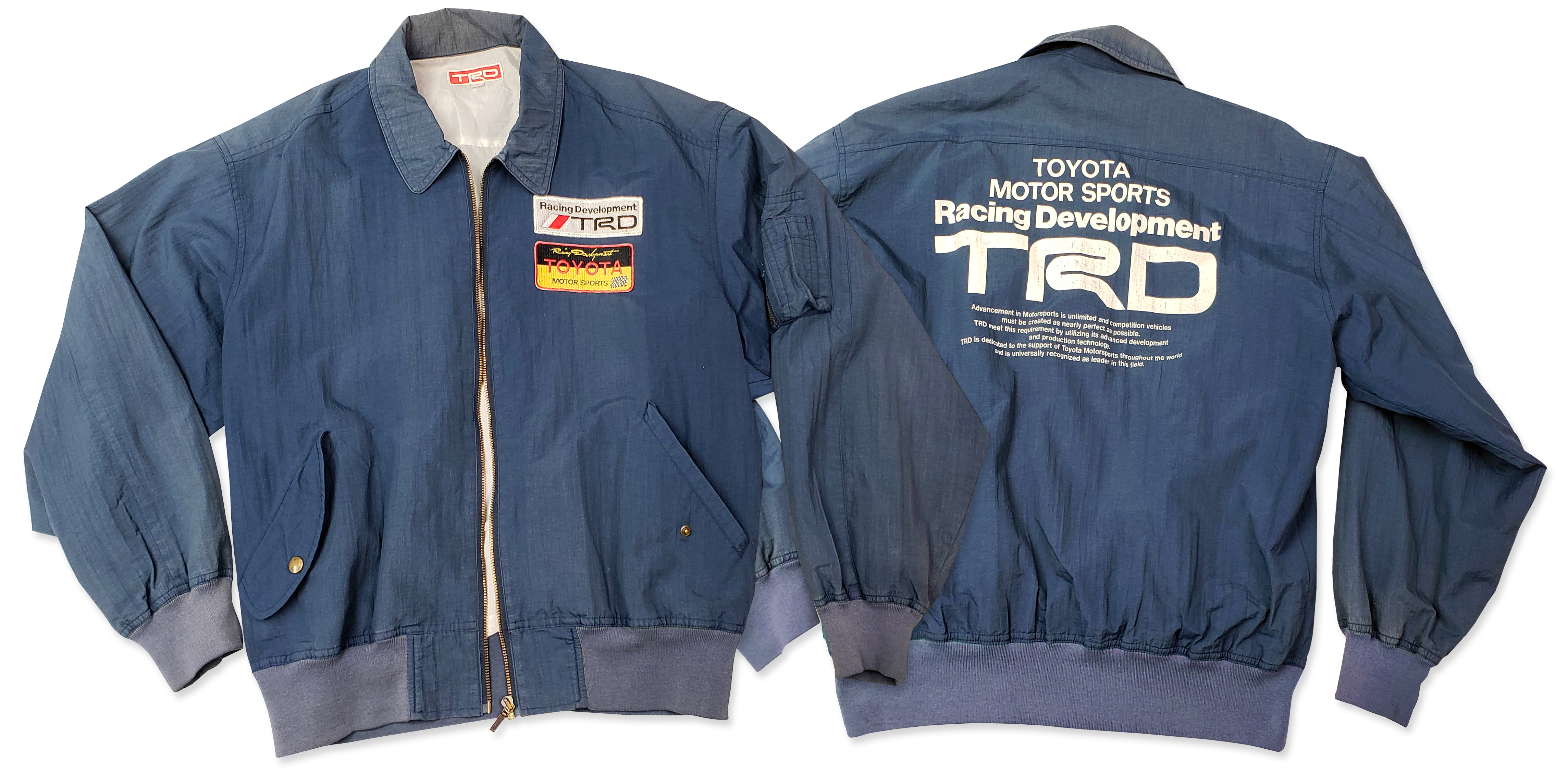 Vintage Toyota Trd Jacket After Hours Supply Co Official Store