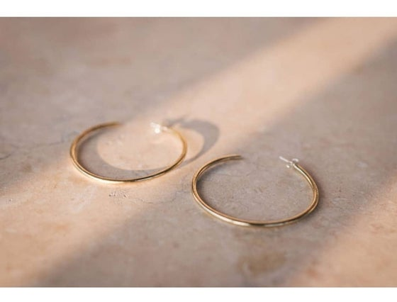 Image of Minimal Brass Hoops