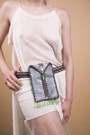 Image of Small grey belt bag