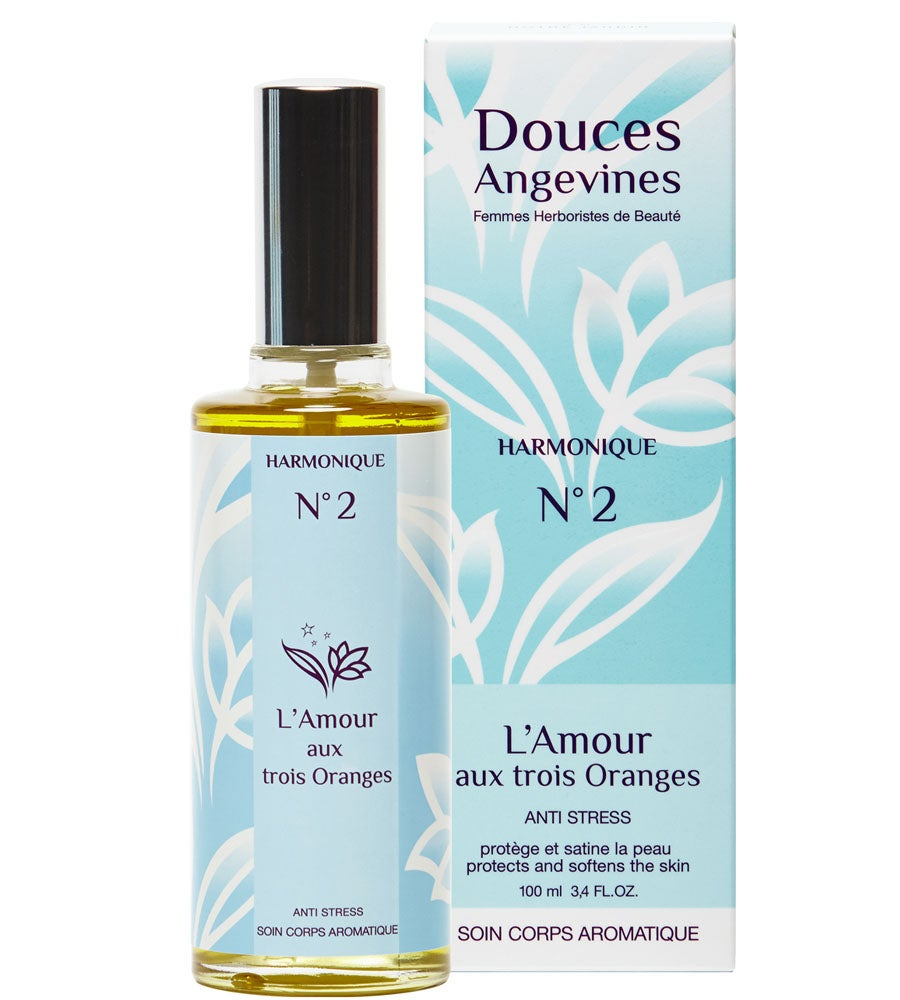 Image of Douces Angevines - L'AMOUR AUX 3 ORANGES Soin Corps - 2