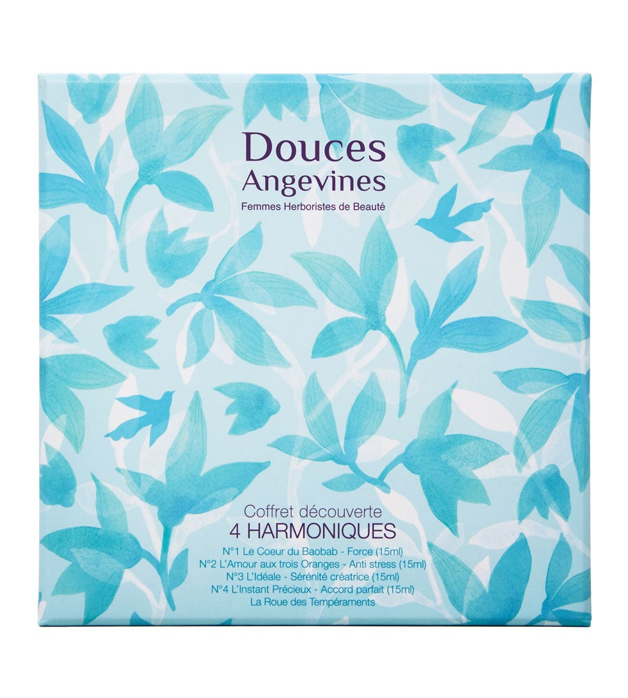 Image of Douces Angevines - COFFRET SOIN CORPS 4 HARMONIQUES