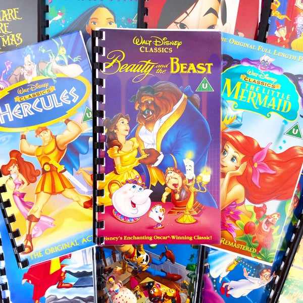Image of Disney VHS Notepad