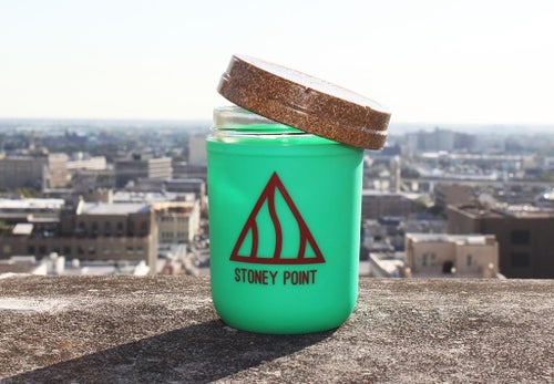 Image of 8OZ STONEY POINT RE: STASH JAR