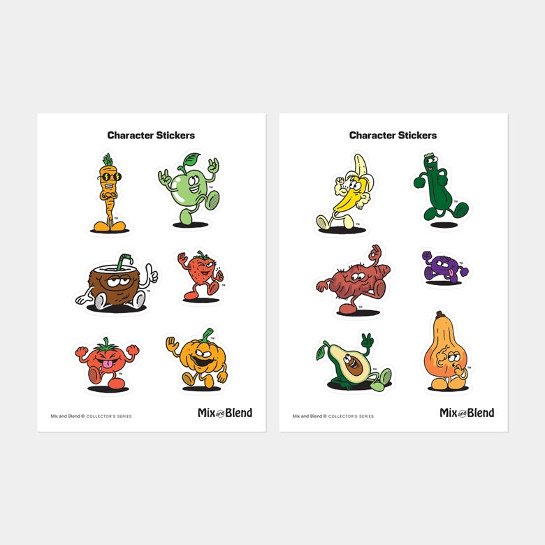 Image of Character Stickers