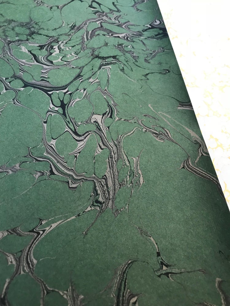 Image of Jade Stone Marble Effect on Green