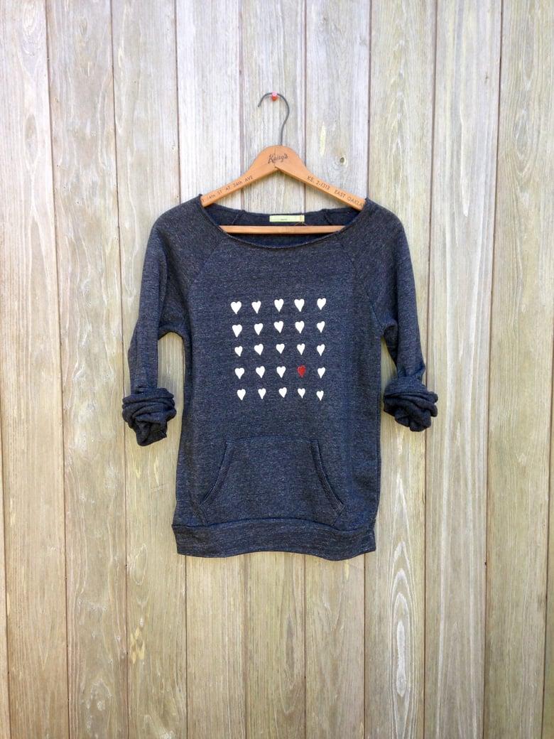 Image of Hearts Sweatshirt