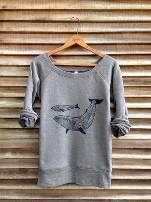 Image of Me and Mama Whale Sweatshirt