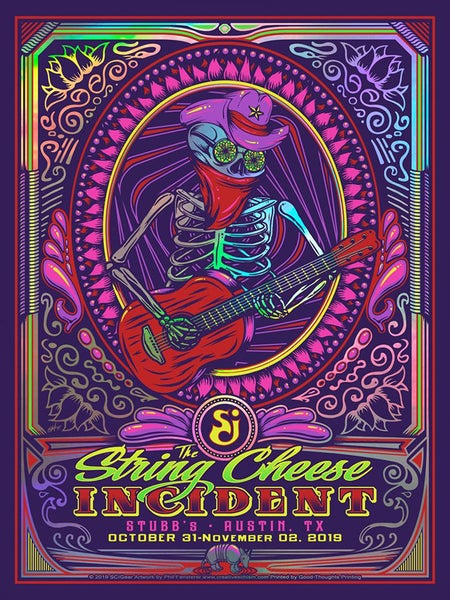Image of The String Cheese Incident - Stubbs in Austin, TX 2019