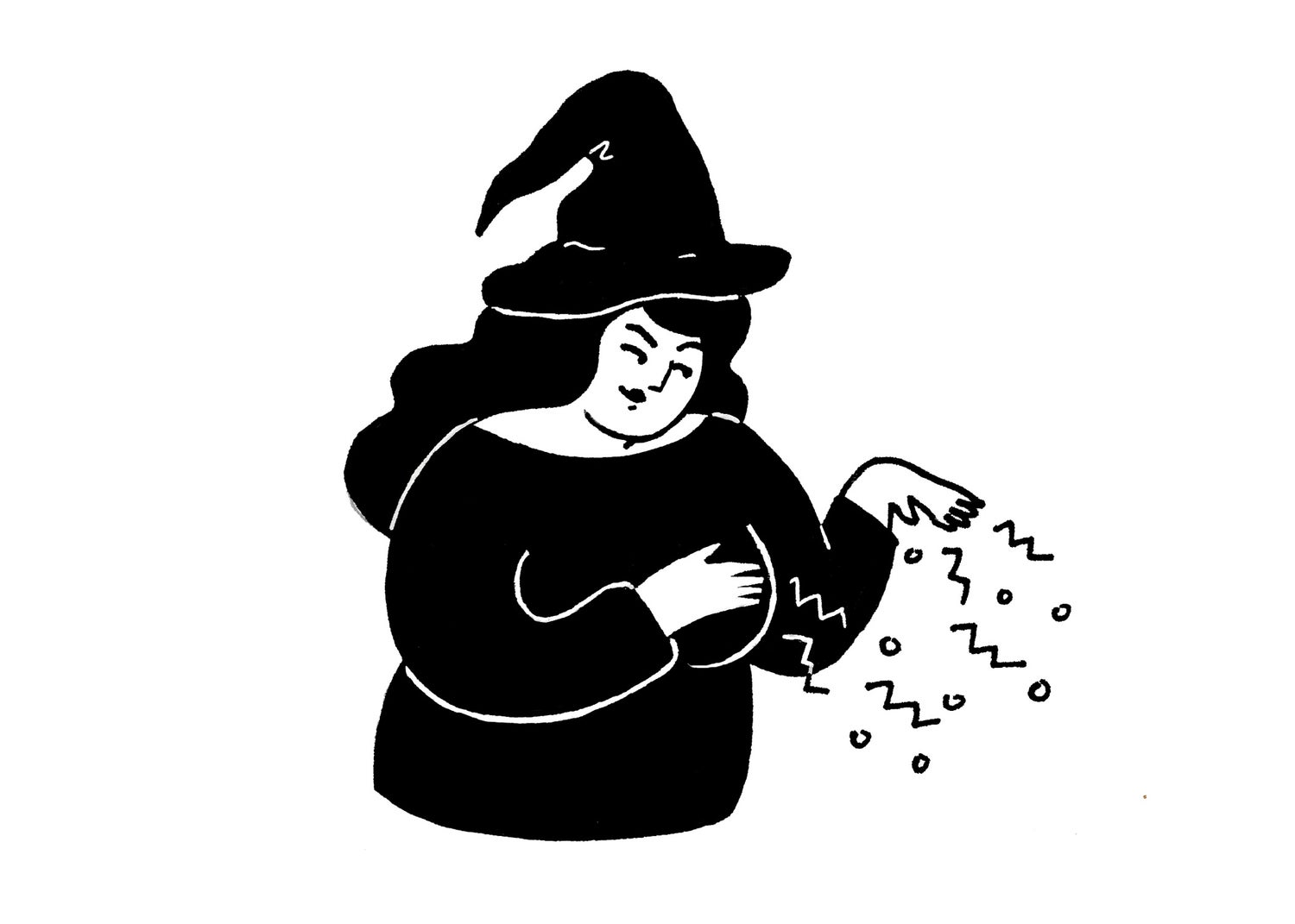 Image of Witch print