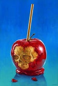 "Image of ""End of the Party: Candy Apple"" - 24"" x 36""  limited edition giclee"