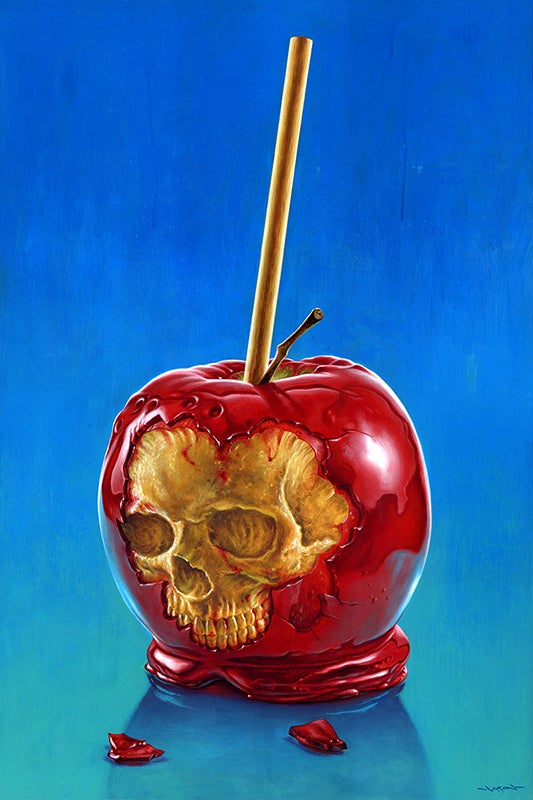 """""""End of the Party: Candy Apple"""" - 24"""" x 36""""  limited edition giclee"""