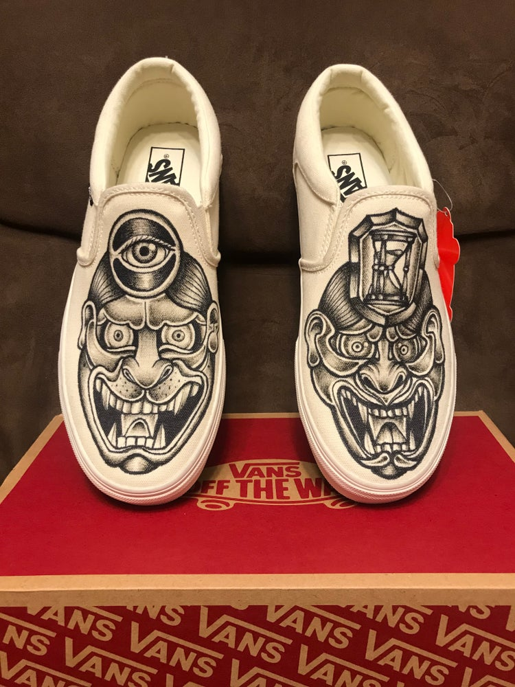 Image of Hand painted Vans