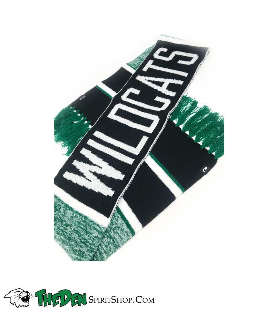 Image of Wildcats Knit Scarf