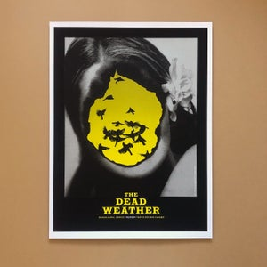 Image of The Dead Weather poster Guadalajara Mexico 10/9/09