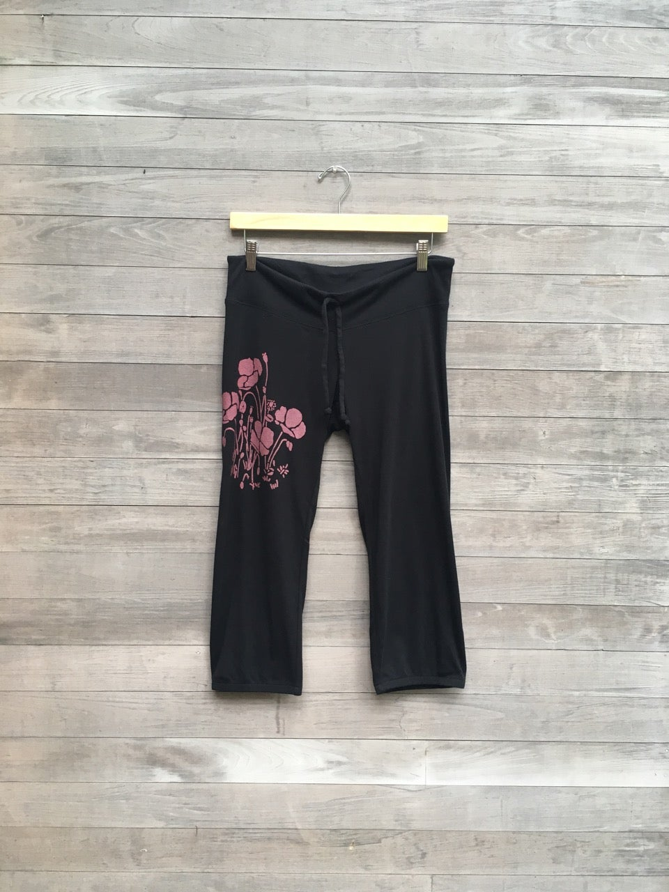 Image of Poppies Cropped Pants