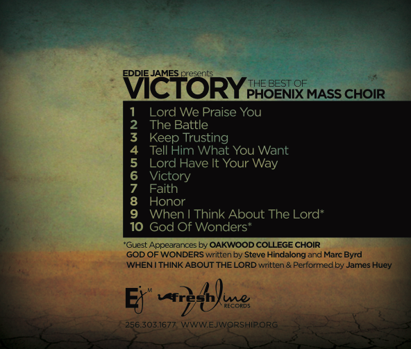 Image of Victory - Best of Phoenix Mass Choir