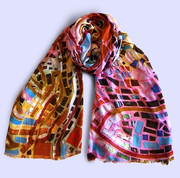 Image of PMG Printed Scarf