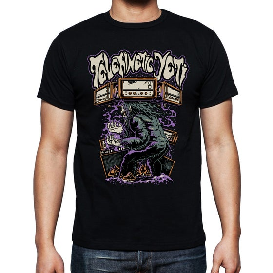 Image of Yeti Levitating Amps T Shirt