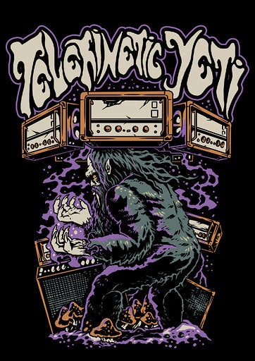 Image of Yeti Levitating Amps T Shirt