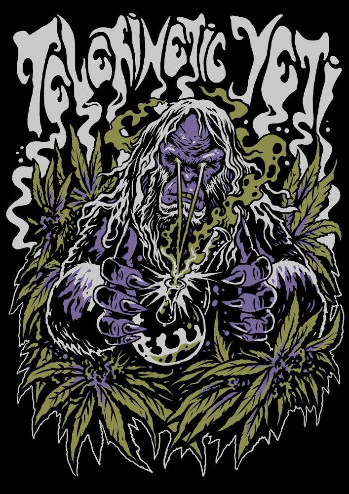 Image of Weed Yeti T Shirt
