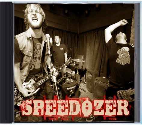 "Image of Speedozer- ""Supercharger"" CD"