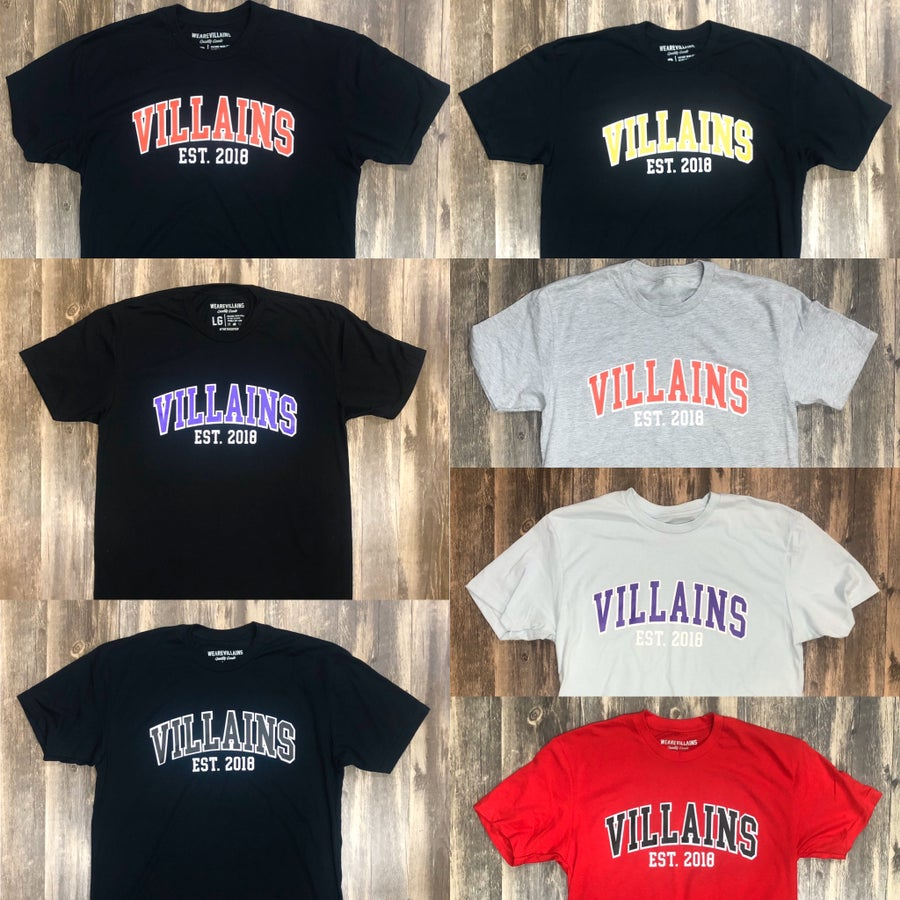 Image of VILLAINS EST tee