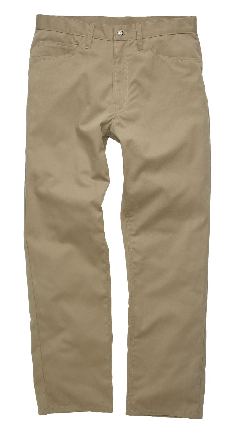 Image of MADE IN USA DOMEstics. Khaki Midweight Pants